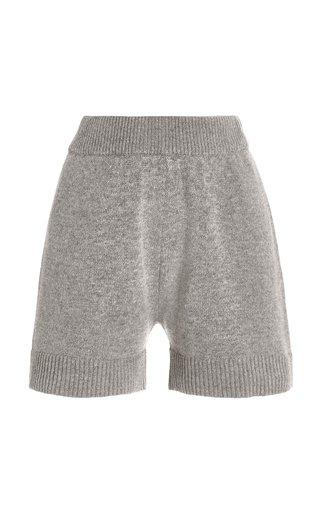 Juno Wool-Blend Knit Lounge Shorts
