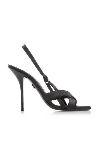 Keira Slingback Satin Sandals
