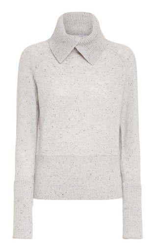 Sophisticated Volumes Cashmere Pullover