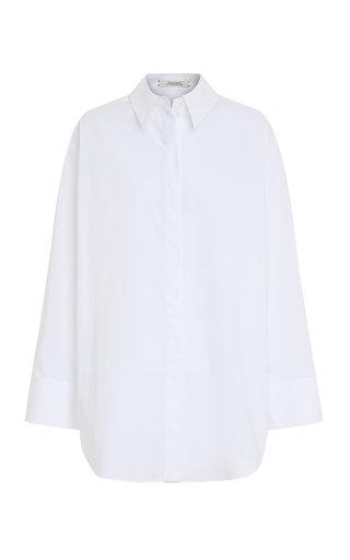 Poplin Power Oversized Cotton Top
