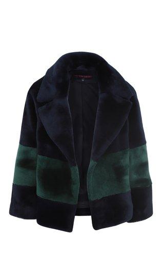 Shearling Pea Cropped Jacket
