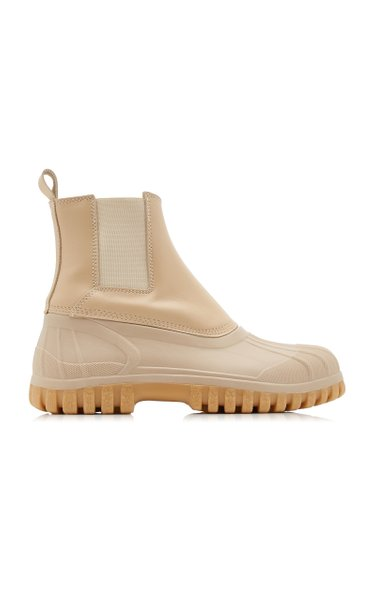 Balbi Leather Duck Boots
