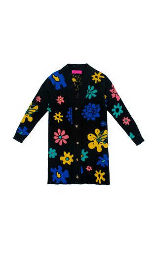 Sound Flowers Cashmere Duster