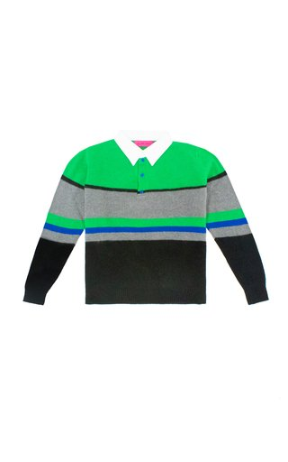 Kirkwood Striped Cashmere Rugby
