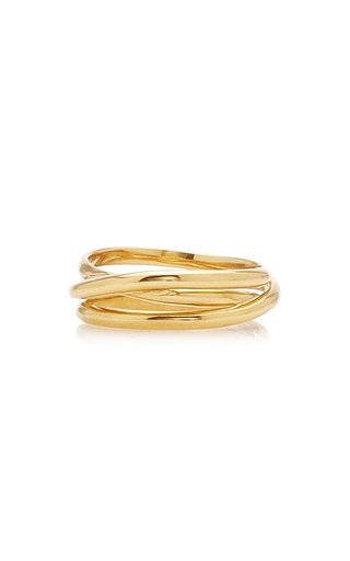 Emilie Gold-Plated Wrap Ring