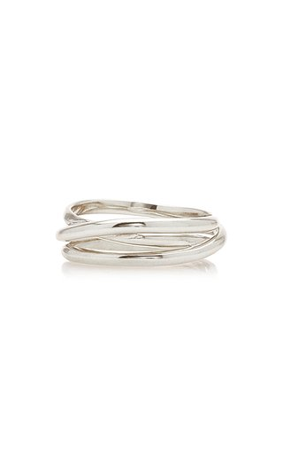 Emilie Sterling Silver Wrap Ring
