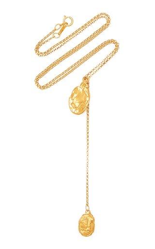 The Lunar Rocks 24K Gold-Plated Necklace
