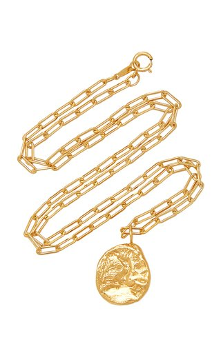 The Minerva 24K Gold-Plated Necklace