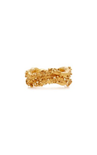 The Unreal City 24K Gold-Plated Ring Set