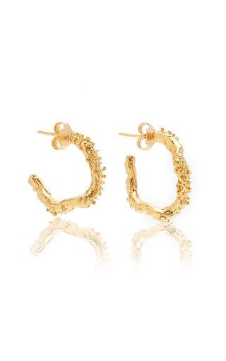 The Lunar Rocks 24K Gold-Plated Earrings