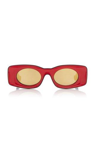 Paula's Ibiza Square-Frame Acetate Sunglasses