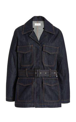 Vision Belted Denim Jacket