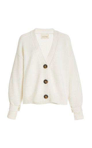 Tiberine Wool-Cashmere Cardigan