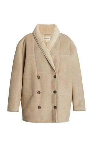 Cebu Shearling Double-Breasted Jacket