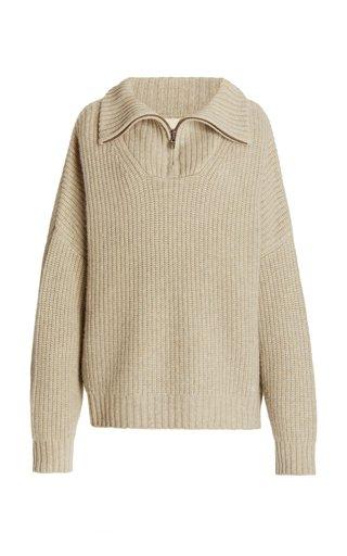 Tierra Cashmere Half-Zip Sweater
