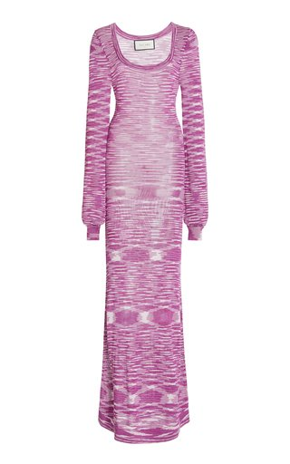 Katicia Space-Dyed Knit Maxi Dress