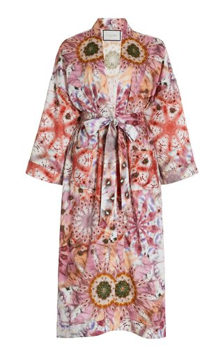Georgiana Printed Robe Jacket