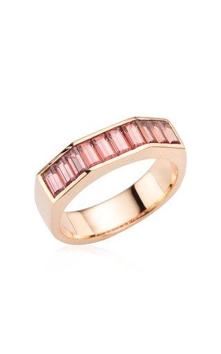 Otto 14K Rose Gold Rhodolite Ring
