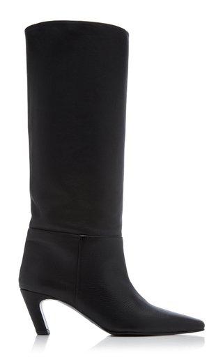 Ingela Leather Knee-High Boots