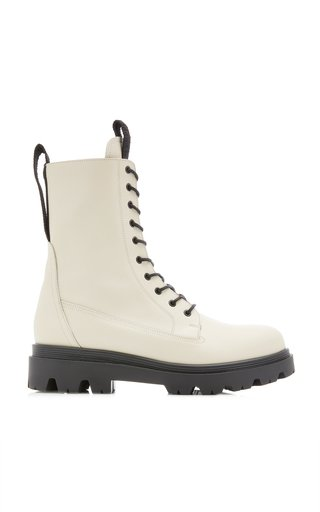 Lovi Leather Combat Boots