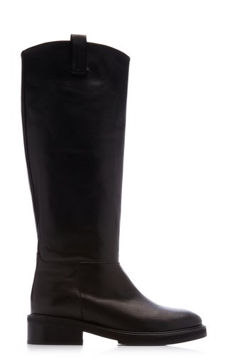 Frances Leather Knee High Boots