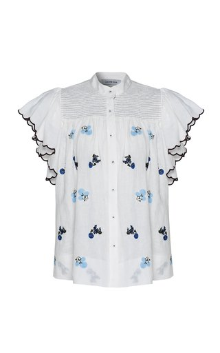 Bonnie Floral Linen Top