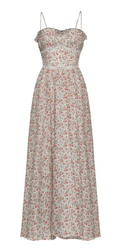 Melody Floral Cotton-Blend Dress