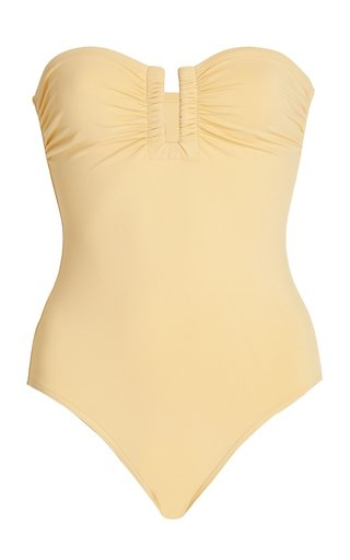 Cassiopee Strapless One-Piece Swimsuit