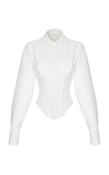 Cotton Corset Shirt