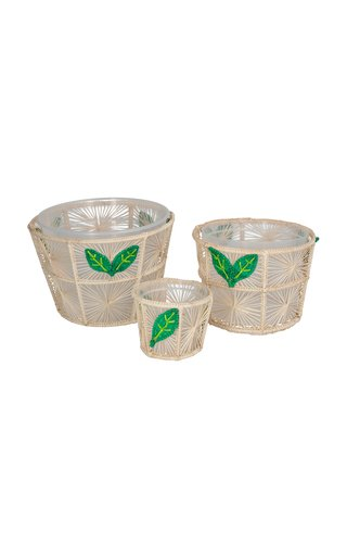 Hojas Flower Pot Set Of 3