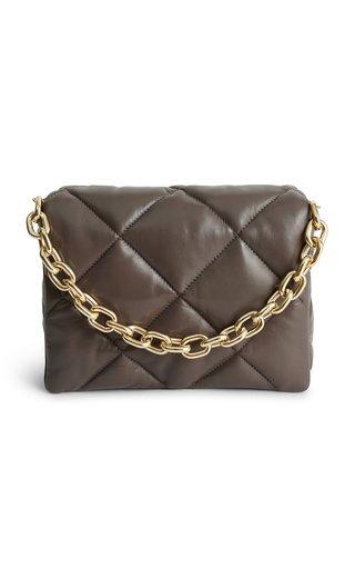 Brynnie Quilted Leather Shoulder Bag