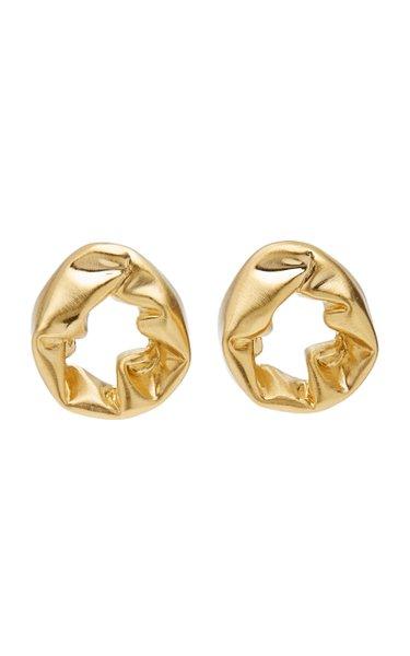 Scrunch 18K Gold Vermeil Earrings