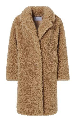 Anika Faux Fur Teddy Coat