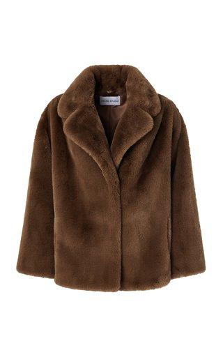 Savannah Faux Fur Plush Jacket