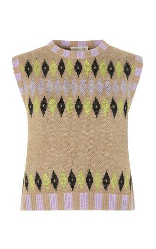 Lotti Fair Isle Knit Sweater