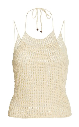 Ao Yem Crocheted Cotton Top