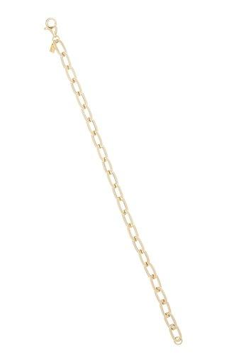 Jumbo 14k Gold Chain Bracelet