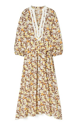 Floral Printed Cotton Dress