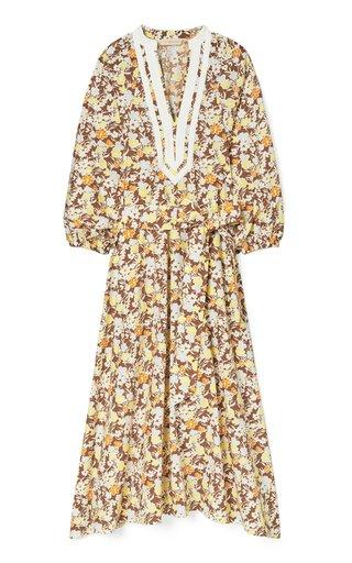 Floral Printed Cotton Dress