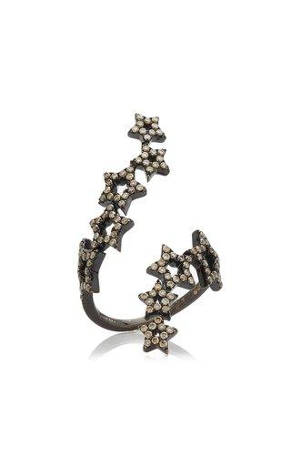 Double Multistar 18k Gold Diamond Ring