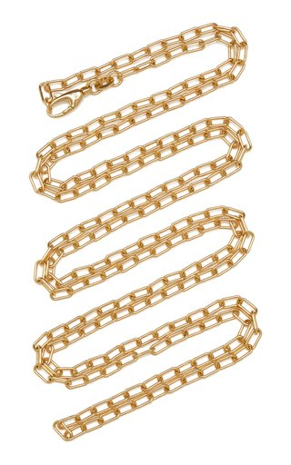Classic 18k Gold Chunky Chain Necklace