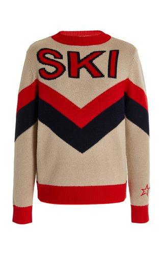 Ski-Knit Wool Sweater