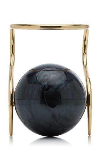 Pearl Acrylic Top Handle Bag