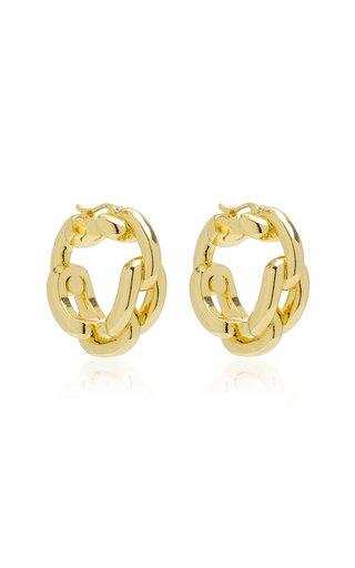 Rory 14K Gold-Plated Hoop Earrings