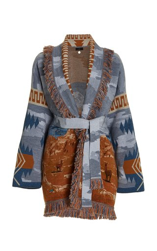 The Moon Valley Wool-Blend Cardigan