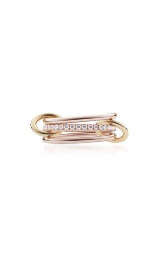 Sonny 18K Rose, Yellow Gold Diamond Ring