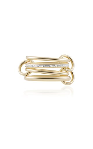 Metius 18K Yellow Gold Diamond Ring