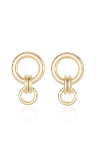 Canis 18K Yellow Gold Earrings