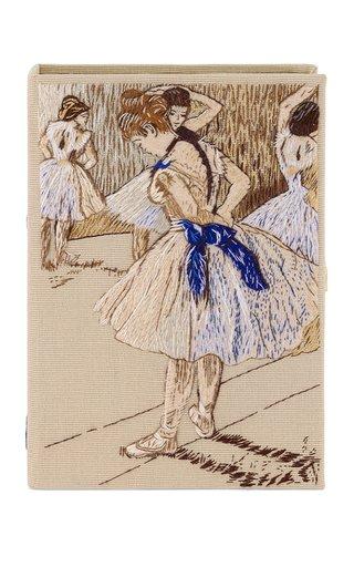 Degas Ballerina Embroidered Clutch