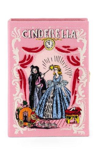 Cinderella Embroidered Book Clutch